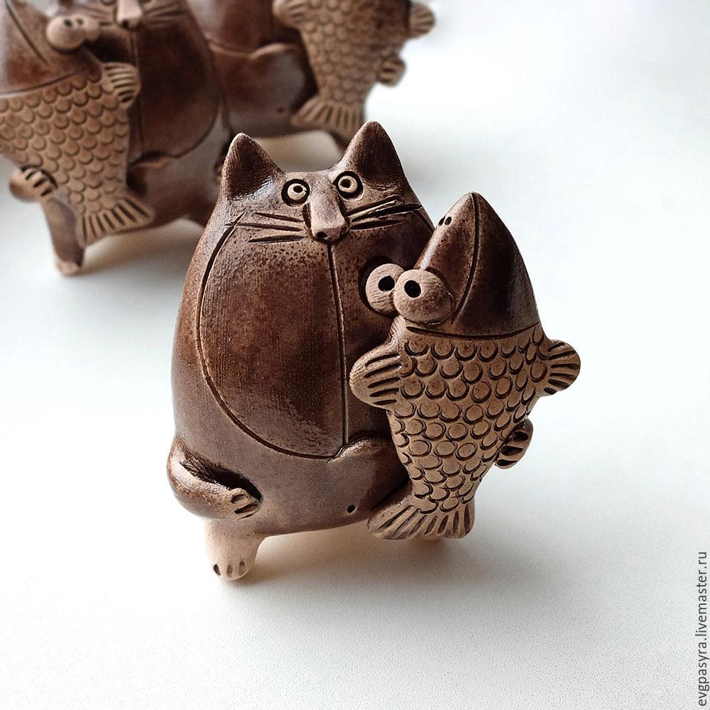 Свистулька кот