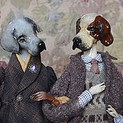 Stuffed Toys handmade. Livemaster - original item Dog. a series of