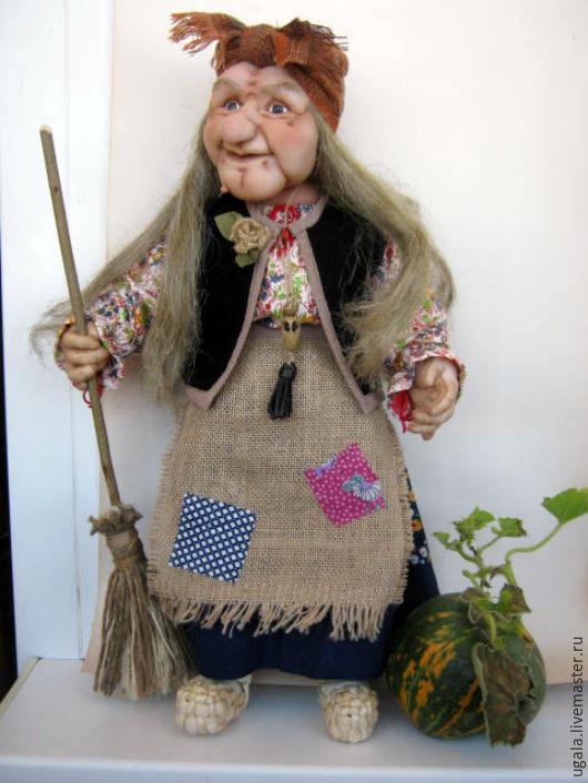 Кукла на руку баба яга своими руками 80