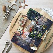 """Канцелярские товары ручной работы. Ярмарка Мастеров - ручная работа Кулинарная книга """"Мои рецепты""""_Savor. Handmade."""