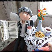 """Для дома и интерьера ручной работы. Ярмарка Мастеров - ручная работа Фигурка """"Фея музыкальной школы"""". Handmade."""