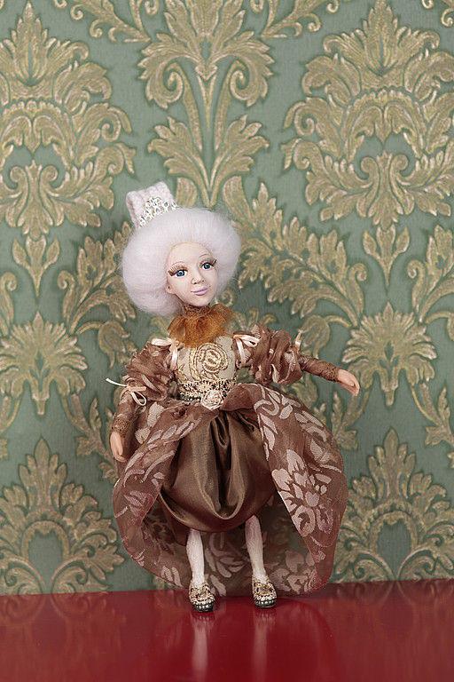 """Коллекционные куклы ручной работы. Ярмарка Мастеров - ручная работа. Купить Кукла """"Гордая Кристи"""". Handmade. Авторская работа"""