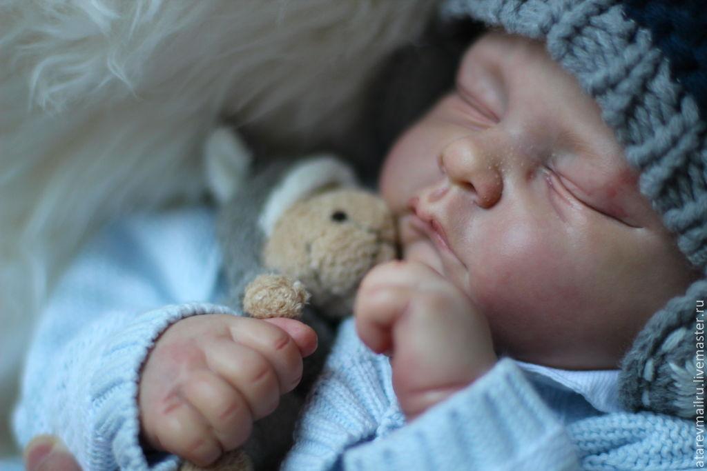 Кукла реборн Энди, Куклы Reborn, Москва, Фото №1