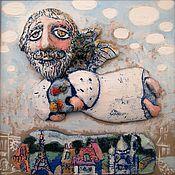 Картины и панно ручной работы. Ярмарка Мастеров - ручная работа Ангел-художник. Handmade.