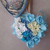 Подарки к праздникам ручной работы. Ярмарка Мастеров - ручная работа Объемные сердечки. Handmade.
