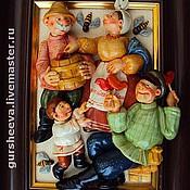 """Картины и панно ручной работы. Ярмарка Мастеров - ручная работа """"За мёдом"""". Handmade."""