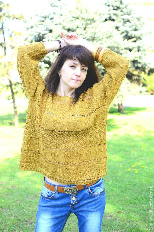 Эко одежда из льна – вязаный русский лен в интернет
