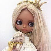 Кастом ручной работы. Ярмарка Мастеров - ручная работа Кукла Блайз Blythe принцесса по имени - Milena. Handmade.