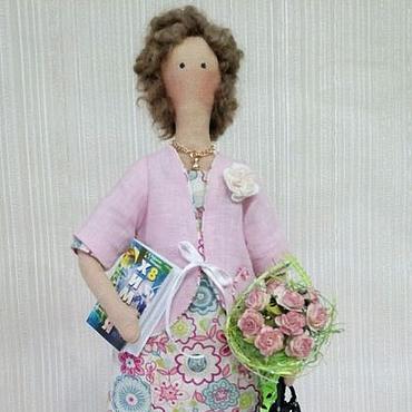 Куклы и игрушки ручной работы. Ярмарка Мастеров - ручная работа Тильда учитель. Handmade.