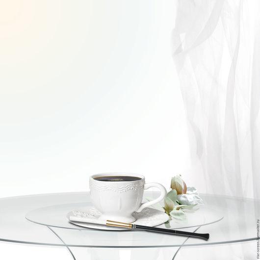 картина утро. фотокартина утро. белый и бежевый. белый и серый. пастель. картина пастель.чашка кофе. кофе. цветок. утро. фотокартина  чашка кофе.фотокартина кофе. фотокартина белый