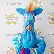 Одежда handmade. Livemaster - original item My little pony Rainbow Dash costume. Handmade.