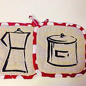 Для дома и интерьера ручной работы. Ярмарка Мастеров - ручная работа Прихватки. Handmade.