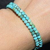 Украшения handmade. Livemaster - original item Women`s bracelet made of natural turquoise. Handmade.