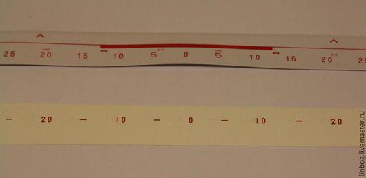 Вязание ручной работы. Ярмарка Мастеров - ручная работа. Купить лента с цифрами к вязальной машине Бразер. Handmade. Белый