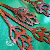 Украшения handmade. Livemaster - original item leather bracelet in two turns Sheet. Handmade.