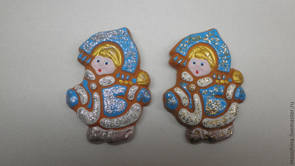 The Snow Maiden magnet, Ded Moroz and Snegurochka, Kostroma,  Фото №1
