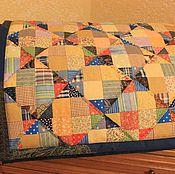 Для дома и интерьера ручной работы. Ярмарка Мастеров - ручная работа Лоскутное одеяло для Арсения. Handmade.