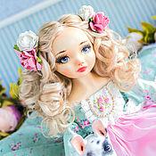 Куклы и игрушки handmade. Livemaster - original item Blanche  doll textile, art doll, ooak, doll interior artdoll. Handmade.