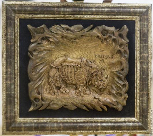 Приколы ручной работы. Ярмарка Мастеров - ручная работа. Купить носорог. с гравюры .А.Дюрера. 1515 г.. Handmade. Носорог