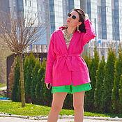 Одежда handmade. Livemaster - original item Suit jacket and shorts, linen suit bright, summer suit. Handmade.