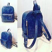 Сумки и аксессуары handmade. Livemaster - original item Backpack bag genuine leather. Handmade.
