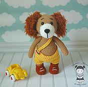 Подарки к праздникам handmade. Livemaster - original item Dog toy - dog Maxim. Handmade.