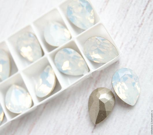 Для украшений ручной работы. Ярмарка Мастеров - ручная работа. Купить 14х10 мм Кристаллы Сваровски капля 4320 стразы Swarovski Crystal. Handmade.