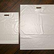 Материалы для творчества ручной работы. Ярмарка Мастеров - ручная работа Пакеты полиэтиленовые белые. Handmade.