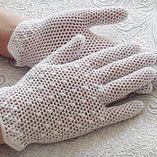 """Свадебный салон ручной работы. Ярмарка Мастеров - ручная работа Кружевные перчатки """"Нежность"""". Handmade."""