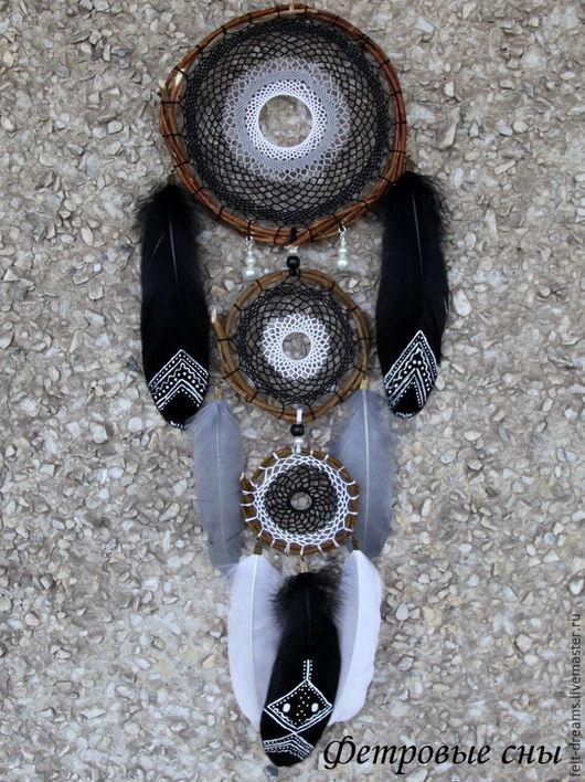 """Ловцы снов ручной работы. Ярмарка Мастеров - ручная работа. Купить Ловец снов """"Накта"""" (с санскрита-ночь). Handmade."""