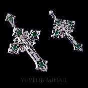 Украшения handmade. Livemaster - original item A couple of crosses from silver lanoitanretni. Handmade.