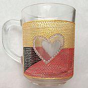 """Посуда ручной работы. Ярмарка Мастеров - ручная работа Кружка """"Сердце"""". Handmade."""