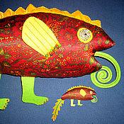 Куклы и игрушки ручной работы. Ярмарка Мастеров - ручная работа Большой красный сикарах. Handmade.