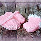 Косметика ручной работы. Ярмарка Мастеров - ручная работа Мыльный набор Тапочки и носки. Handmade.