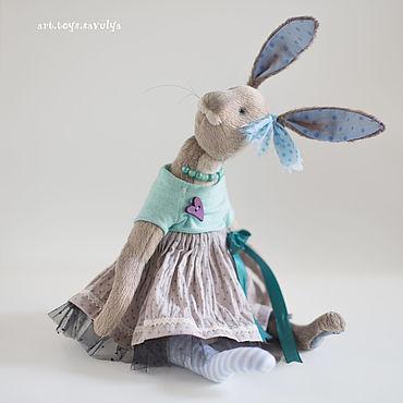 Куклы и игрушки ручной работы. Ярмарка Мастеров - ручная работа Зайчиха. Handmade.