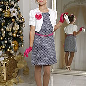 Платье ручной работы. Ярмарка Мастеров - ручная работа Нарядное платье для девочки. Handmade.