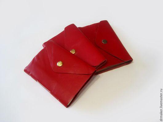 Блокноты ручной работы. Ярмарка Мастеров - ручная работа. Купить Рубин. Handmade. Ярко-красный, рубиновый блокнот, рубиновая кожа