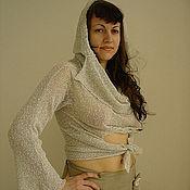 Одежда ручной работы. Ярмарка Мастеров - ручная работа Джемпер-трансформер (светло-серый). Handmade.