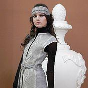 """Одежда ручной работы. Ярмарка Мастеров - ручная работа Жилет """"Серебро"""". Handmade."""