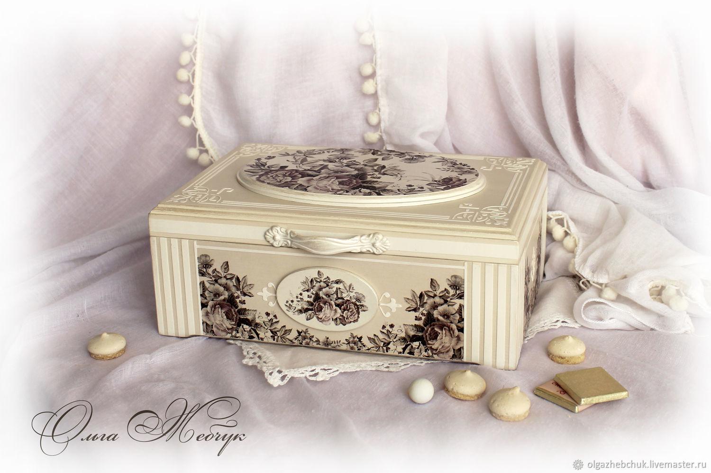 Tea box 'summer Pearl', Houses, St. Petersburg,  Фото №1