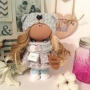 Тыквоголовка ручной работы. Ярмарка Мастеров - ручная работа Кукла Мишка 21см 1500р. Handmade.