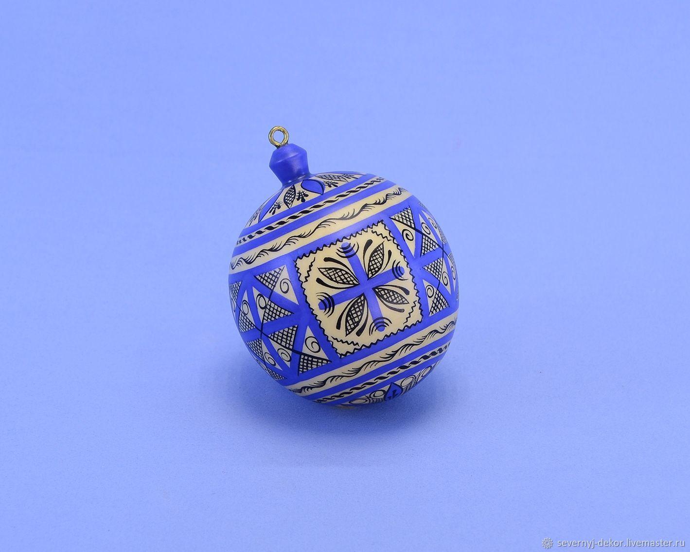 Шар ёлочный № 29, Елочные игрушки, Северодвинск,  Фото №1
