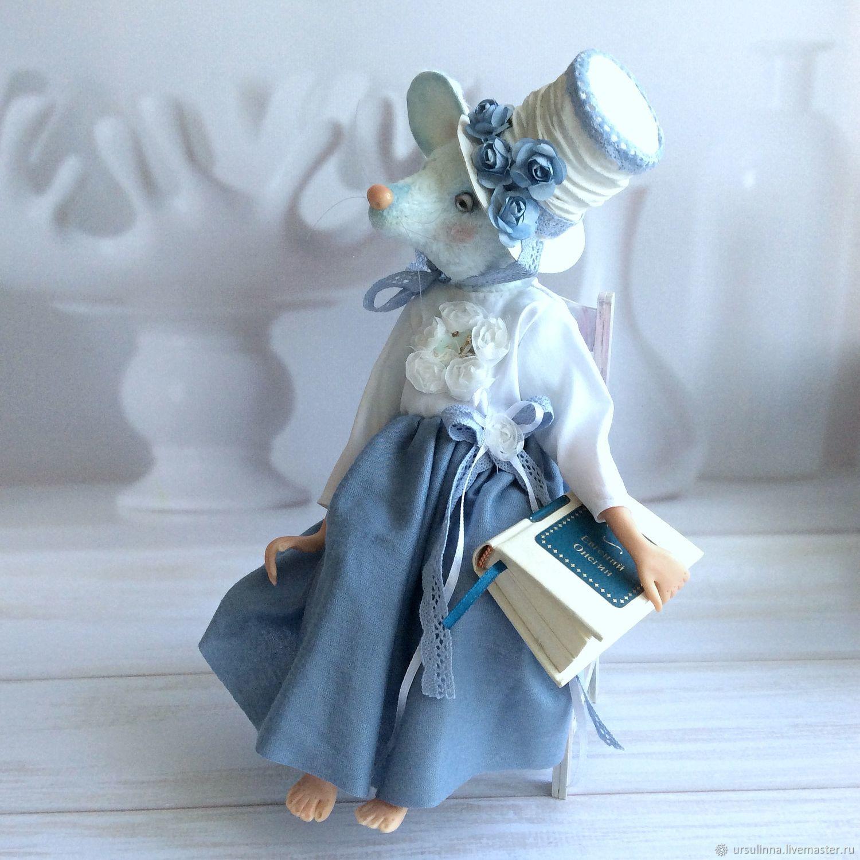 Мишки Тедди ручной работы. Ярмарка Мастеров - ручная работа. Купить Друзья Тедди мышка Миплориса. Handmade. Мышь