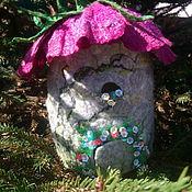 Куклы и игрушки handmade. Livemaster - original item Flower house. Handmade.