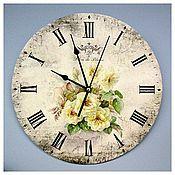 Для дома и интерьера ручной работы. Ярмарка Мастеров - ручная работа Часы авторские с росписью. Handmade.