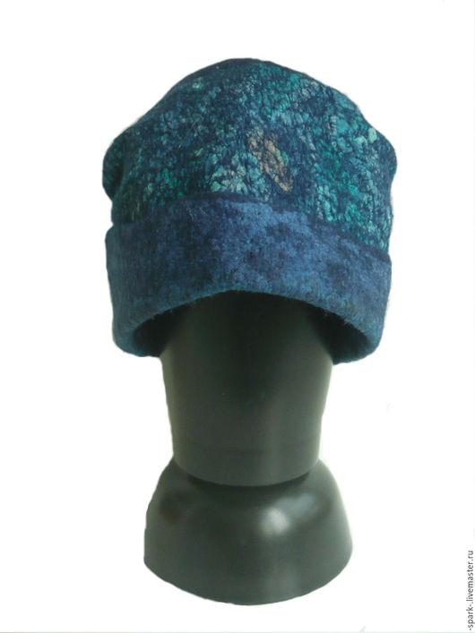 Шапки ручной работы. Ярмарка Мастеров - ручная работа. Купить Шапка из шерсти и шелка. Handmade. Шерстяная шапка, теплая шапка