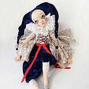 Куклы и игрушки ручной работы. Ярмарка Мастеров - ручная работа Авторская коллекционная кукла. Девочка-шут Ария. Handmade.