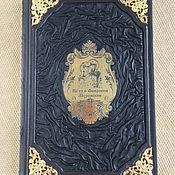 Сувениры и подарки handmade. Livemaster - original item Saints Peter and Fevronia of Murom (leather). Handmade.