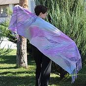 Аксессуары handmade. Livemaster - original item Stole Lavender dreams. Handmade.