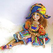 """Куклы и игрушки ручной работы. Ярмарка Мастеров - ручная работа кукла """"Коломбинка"""". Handmade."""